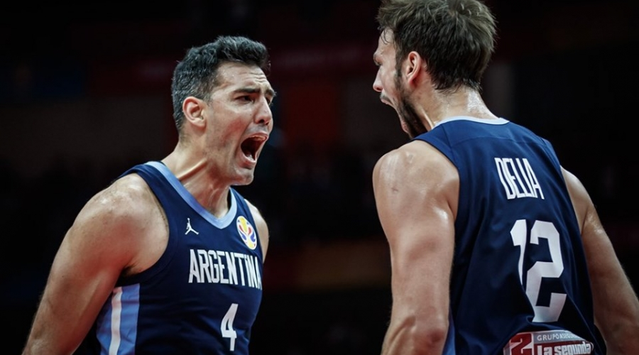Final del partido Argentina - Rusia