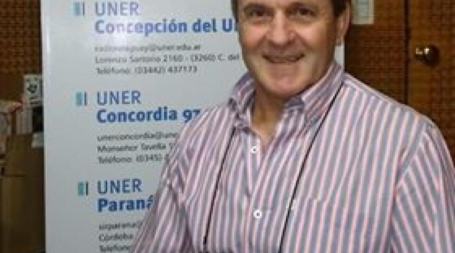 Entrevista al ing. Oscar Gerard, decano de la Facultad de Ciencias de la Alimentación - UNER.