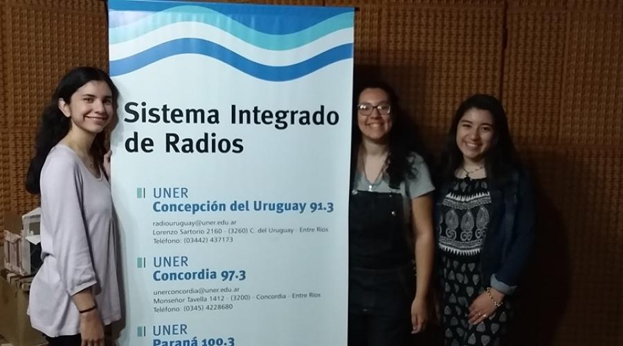Entrevista a Agostina Humeres, Agustina Nieves, Agustina Velazquez