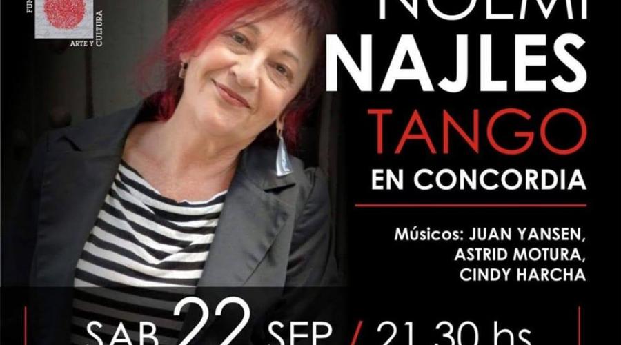 Entrevista a Noemí Najles (Cantante de Tango)