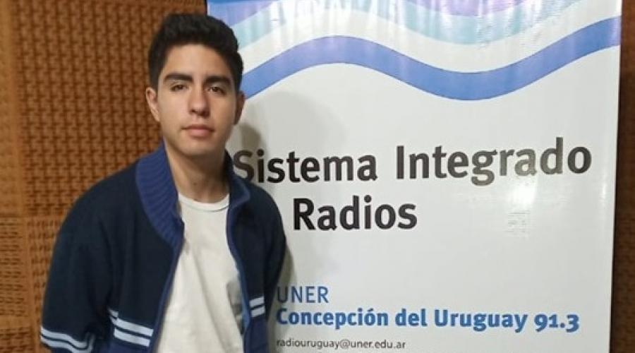 Entrevista al estudiante Agustin Paredes