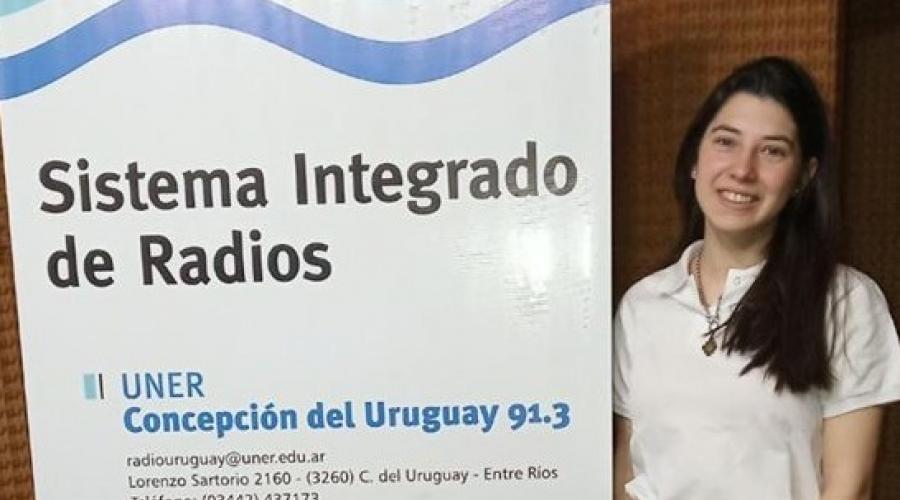 Entrevista a la estudiante Sofia Larocca