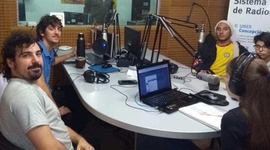Entrevista a los docentes Tomás Ferrer, Mauri Amiel, Kevin Maquinter y Anabela Gonzalez