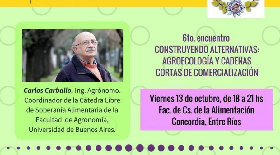 Entrevista a Carlos Carballo (Ing. Agrónomo UBA)