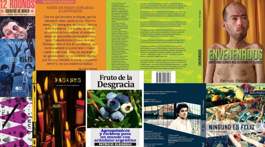 Entrevista al periodista y escritor Patricio Eleisegui.