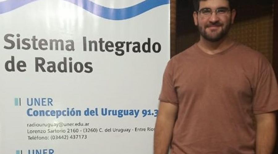 Entrevista al estudiante Pablo Serantes